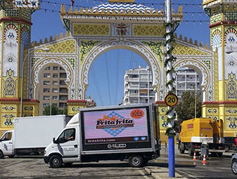 Camion publicidad LED