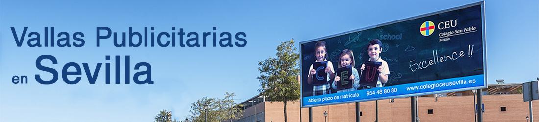 Vallas publicitarias en Sevilla